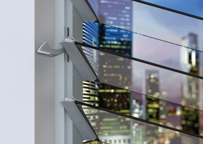 Altair Louvre Windows can bring strength and safety to your sustainable building design.