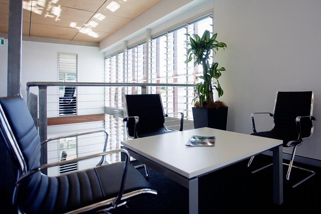 Altair Powerlouvres can be integrated into building management systems for comfortable environments.