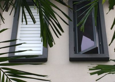 Altair Louvres provide privacy for occupants when closed