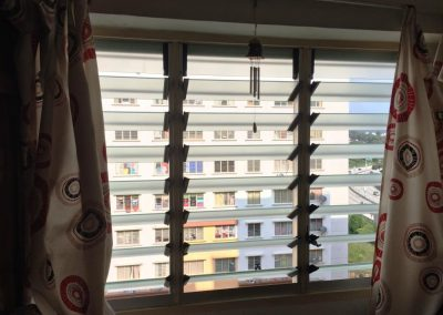 New Altair Louvres are great for high rise apartments to provide safety