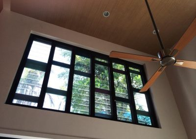 Breezway Glass Louvres in Bungalow