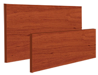 <strong>Woodgrain Aluminium</strong><p>Aluminium with woodgrain finish provides privacy with ventilation.</p>