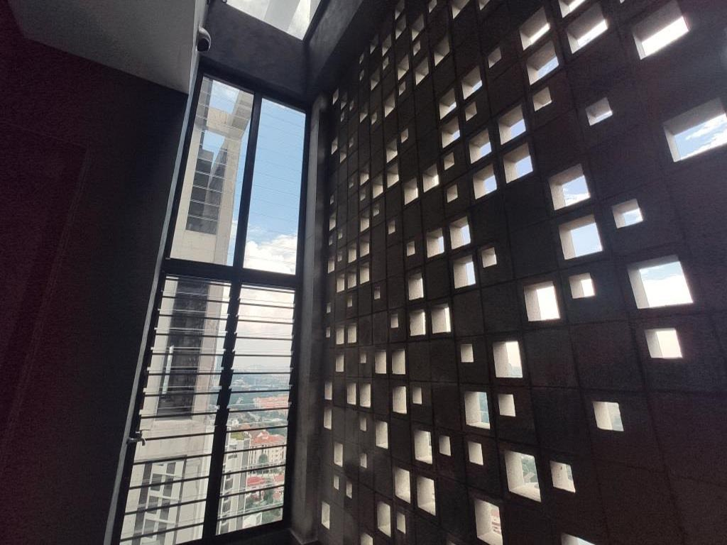 Inside view of Breezway Louvre Windows in Kapas Heights