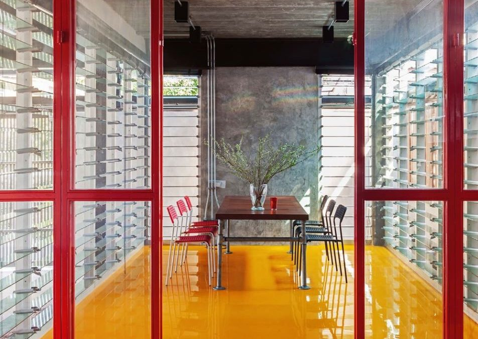 Tinman House with Breezway Louvre Windows